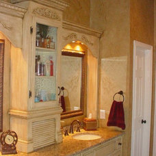 Traditional Bathroom by Servigon Construction Group