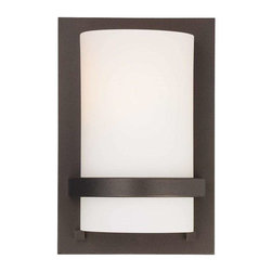 Minka Lavery - Minka Lavery 342-172 Fieldale Lodge Wall Sconce In Smoked Iron - Manufacturer: Minka Lavery