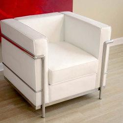 Cube Lc Petit Chair, White -