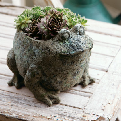 Eclectic Outdoor Pots And Planters by Olive & Cocoa