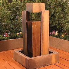 Mediterranean Outdoor Fountains And Ponds by Water Feature Supply LLC