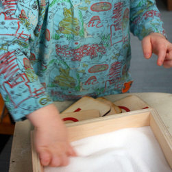 Sand Tray - Again, another toy that's gorgeous and always changing with your child, encouraging art and literacy. Your child can create his own modern Japanese garden scenes or work on his first letters.