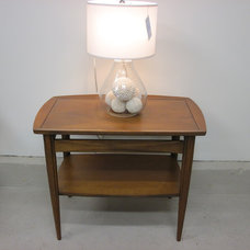 Modern Side Tables And End Tables vintage mid century modern walnut table