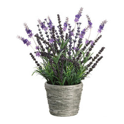 Silk Plants Direct - Silk Plants Direct Lavender (Pack of 4) - Silk Plants Direct specializes in manufacturing, design and supply of the most life-like, premium quality artificial plants, trees, flowers, arrangements, topiaries and containers for home, office and commercial use. Our Lavender includes the following: