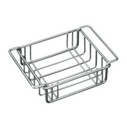 """KOHLER - KOHLER K-3127-ST Wire Storage Basket Fits Undertone Trough Sinks - KOHLER K-3127-ST Wire Storage Basket Fits Undertone Trough SinksEnhance the functionality of your Undertone(R) trough sink with this wire rinse basket. Specifically designed to fit snugly into the basin, this stainless steel basket cushions fragile dishes and protects the sink's basin, ensuring years of beauty and reliable performance.KOHLER K-3127-ST Wire Storage Basket Fits Undertone Trough Sinks, Features:• 5-9/16""""L x 7-11/16""""W"""