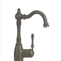 Blanco - Blanco Grace Bar Faucet - Graceful appearance, powerful performance. Our Victorian-inspired bar design features a single-lever handle, elegant curves . Our new caf_ brown finish coordinates with our SILGRANIT II sinks.