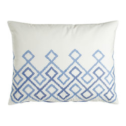 Dransfield & Ross House - Standard Quilted Sham - BLUE VISTA (STANDARD) - Dransfield & Ross HouseStandard Quilted Sham