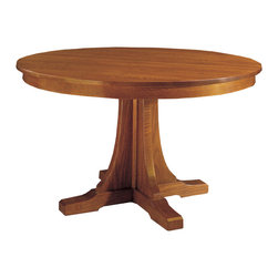 Stickley Round Pedestal Dining Table 89/91-713 -