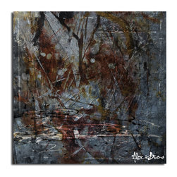 Ready2HangArt - Ready2hangart Alexis Bueno Abstract Piece' Canvas Wall Art - This oversized abstract canvas art set is the perfect addition to any contemporary space. It is fully finished, arriving ready to hang on the wall of your choice.