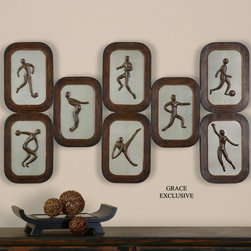 "13649 Athletes by Uttermost - Get 10% discount on your first order. Coupon code: ""houzz"". Order today."