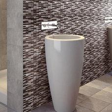 Modern Tile by American Tile and Stone/Backsplashtogo