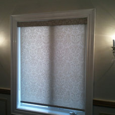 Traditional Roller Shades by ResCom Designs