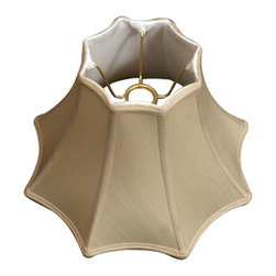 Royal Designs, Inc. - 8 Sided Top Bottom Bell Basic Lampshade - This 8 Sided Top Bottom Bell Basic Lampshade is a part of Royal Designs, Inc. Timeless Basic Shade Collection and is perfect for anyone who is looking for a traditional yet stunning lampshade. Royal Designs has been in the lampshade business since 1993 with their multiple shade lines that exemplify handcrafted quality and value.