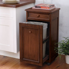 Traditional Kitchen Trash Cans by Grandin Road