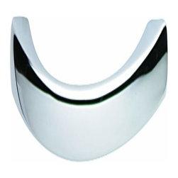 Hafele - Hafele: Handle: Zinc: Chrome Polished: M4: Center To Center 128mm - Hafele: Handle: Zinc: Chrome Polished: : Center To Center 128mm