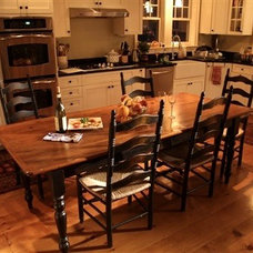 Farmhouse Dining Tables by ECustomFinishes