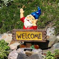Smart Solar - Smart Solar Welcome Gnome Solar Accent Light -