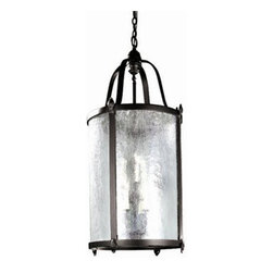 World Imports - World Imports WI1661 Wrought Iron 9 Light Outdoor Pendant from the Old World Cha - *Old World Charm 9 Light Exterior Hanging Lantern