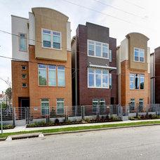 Modern Exterior by David Weekley Homes