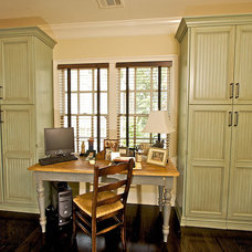 Traditional Home Office by Designs by BSB