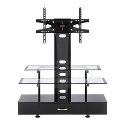 Z-Line Designs - Sync Flat Panel 3-in-1 TV Mounting System - This is a beautiful piece of top-quality furniture that's perfect for your Man Cave, Game Room, Office or anywhere you would like to decorate and show your personal style.