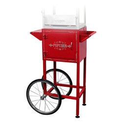 Waring Pro - Waring Pro Trolley Cart for WPM40 Popcorn Maker - Cart on wheels creates mobility for the WPM40 popcorn maker