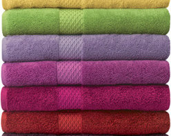 Bathrooom Project - The thickest, plushest towels from Yves Delorme features a woven dobby border and is a cotton/ modal blend for extra softness. Coordinating Bath Mats and Rugs are also available. Available in 23 colors and six sizes.  Monogramming available.