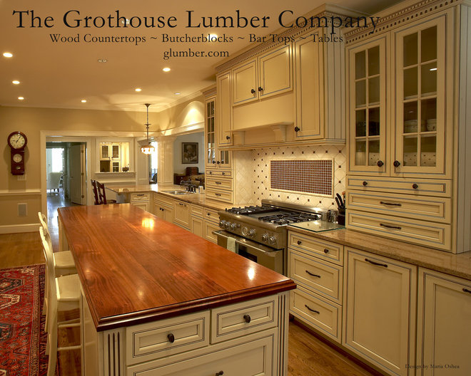 Countertop Companies : Traditional Kitchen Countertops by The Grothouse Lumber Company