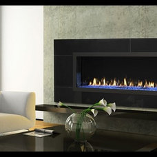 Modern Indoor Fireplaces by Hearth & Home Technologies