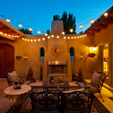 Mediterranean Patio by Architectural Photography
