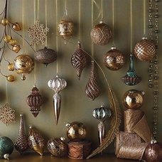 Traditional Holiday Decorations by FRONTGATE