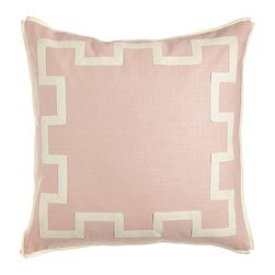 Legacy Home - Jefferson European Sham - BLUSH (PINK) (EUROPEAN) - Legacy HomeJefferson European Sham