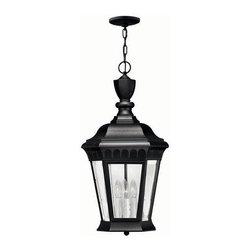Hinkley Lighting - Hinkley Lighting 1702BK Camelot Lantern in Black - Hinkley Lighting 1702BK Camelot Lantern in Black