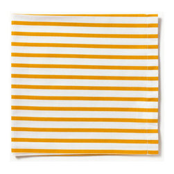 Sailor Mustard Napkin - I could use these bright napkins year-round.