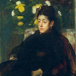 Mademoiselle Malo, c.1877 | Edgar Degas | Canvas Prints - Condition: Unframed Canvas Print