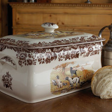 Traditional Kitchen Trash Cans by Horchow