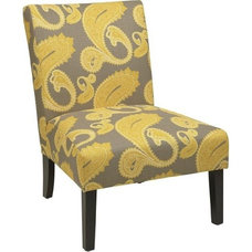 Amazon.com - Avenue Six Victoria Chair in Sweden Dijon - Living Room Chairs