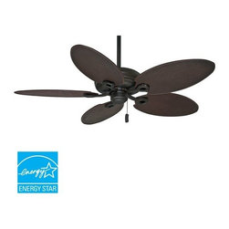 "Casablanca - Casablanca 55010 Charthouse 54-60"" 5 Blade Energy Star Outdoor Ceiling Fan - Bla - Included Components:"