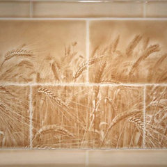 modern kitchen tile by Living Walls