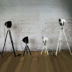 Antique Industrial Reflection Table Lamp and Floor Lamp -