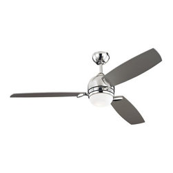 "Monte Carlo - Monte Carlo Muirfield 3 Blade 52"" Ceiling Fan - Blades, Light Kit, Bulbs, Wall C - Features:"