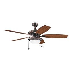 "BUILDER FANS - BUILDER FANS 300016OBB Canfield Select Unipack 52"" Transitional Ceiling Fan - BUILDER FANS 300016OBB Canfield Select Unipack 52"" Transitional Ceiling Fan"