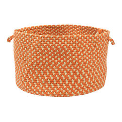 Color Market Orange Colored Basket - Keep kids' toys under control with this utility basket. Or place magazines or throws in it close by a sofa for convenience.