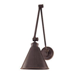 Hudson Valley Lighting - Hudson Valley Lighting 4721-OB Exeter Old Bronze Wall Sconce - Hudson Valley Lighting 4721-OB Exeter Old Bronze Wall Sconce
