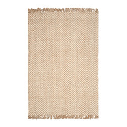 """Safavieh - Cendrillon Natural Fiber Rug, Bleach / Natural 2'6"""" X 10' - Construction Method: Hand Woven. Country of Origin: India. Care Instructions: Vacuum Regularly To Prevent Dust And Crumbs From Settling Into The Roots Of The Fibers. Avoid Direct And Continuous Exposure To Sunlight. Use Rug Protectors Under The Legs Of Heavy Furniture To Avoid Flattening Piles. Do Not Pull Loose Ends; Clip Them With Scissors To Remove. Turn Carpet Occasionally To Equalize Wear. Remove Spills Immediately. Hand-woven with natural fibers, this casual area rug is innately soft and durable. This densely woven rug will add a warm accent and feel to any home. The natural latex backing adds durability and helps hold the rug in place."""