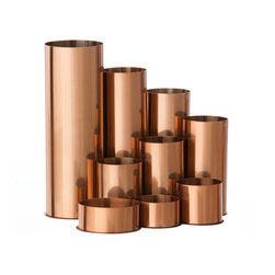 Ferm Living - Copper Pencil Holder - Breathe new life into your office with this wonderful Copper Pencil Holder. It is made of stainless steel with a copper finish made by electrophoresis. For cleaning wipe with a damp cloth.