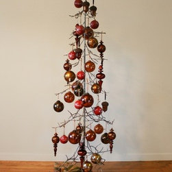 Balsam Hill 71 Inch Metal Ornament Christmas Tree - CHARM AND CONVENIENCE COME TOGETHER