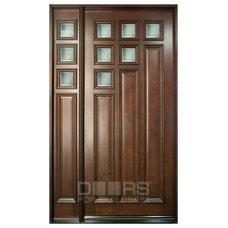 Contemporary Front Doors by Doors For Builders Inc