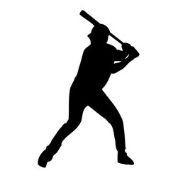 None - Baseball Player Vinyl Wall Sticker Decal - Bring added excitement to your wall decor with this stylish vinyl wall sticker decal. This easy-to-apply decal features a baseball player.