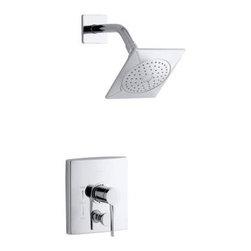 KOHLER - KOHLER K-T14777-4-CP Stance Rite-Temp Shower Trim - KOHLER K-T14777-4-CP Stance Rite-Temp Shower Trim in Polished Chrome